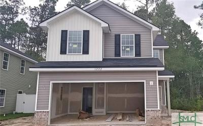 Single Family Home Active Contingent: 1222 Cypress Fall Circle