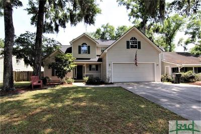 Wilmington Island Single Family Home For Sale: 517 Pointe North Drive