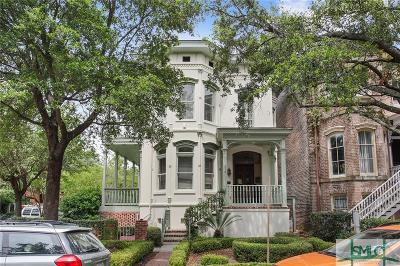 Savannah Single Family Home For Sale: 212 W Hall Street
