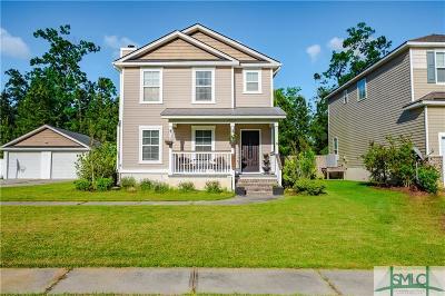 Savannah GA Single Family Home For Sale: $279,000