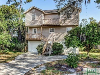 Tybee Island Single Family Home Active Contingent: 1005 Bay Street
