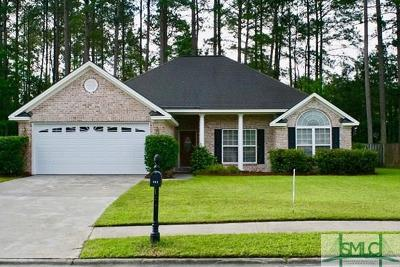 Pooler Single Family Home For Sale: 111 Copper Brook Lane