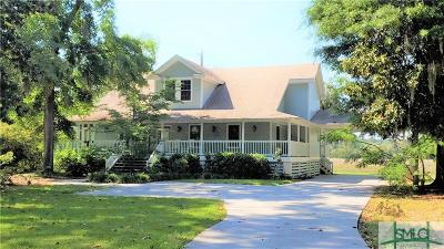 Wilmington Island Single Family Home For Sale: 805 Betz Creek Road
