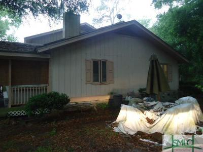 Savannah GA Single Family Home For Sale: $109,900