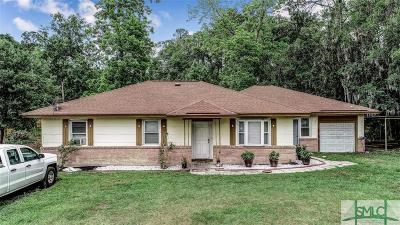 Savannah Single Family Home For Sale: 11903 Middleground Road