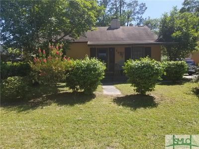 Savannah Single Family Home For Sale: 1817 Holly Avenue