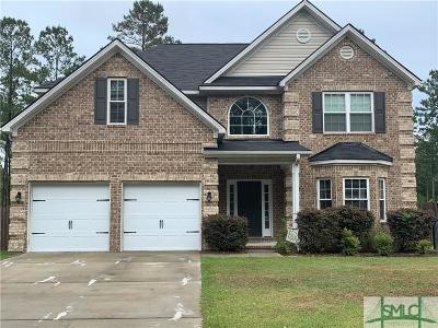 Ludowici Single Family Home For Sale: 530 Briarcrest Drive NE