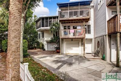 Tybee Island Condo/Townhouse For Sale: 12 Van Horne Avenue #E