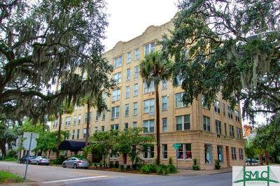 Savannah Condo/Townhouse For Sale: 106 W Gwinnett Street #D6
