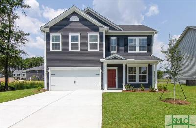 Pooler Single Family Home For Sale: 414 Grasslands Drive
