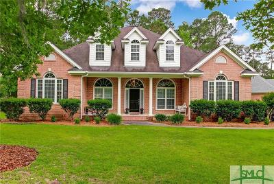Savannah Single Family Home For Sale: 124 Greenview Drive