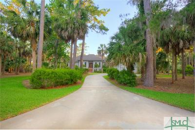 Savannah Single Family Home For Sale: 2 Marsh Island Lane
