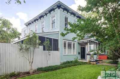 Savannah Single Family Home For Sale: 413 E Bolton Street