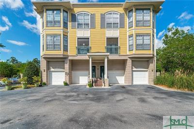 Savannah Condo/Townhouse For Sale: 2112 Whitemarsh Way