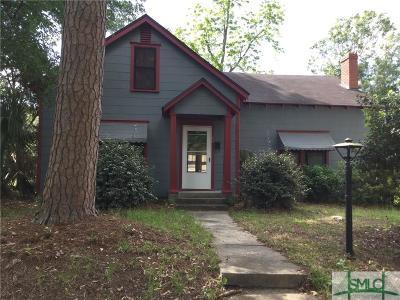 Savannah Single Family Home For Sale: 212 Lawton Avenue