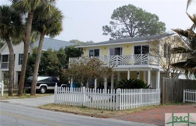 Tybee Island Single Family Home For Sale: 1404 Jones Avenue