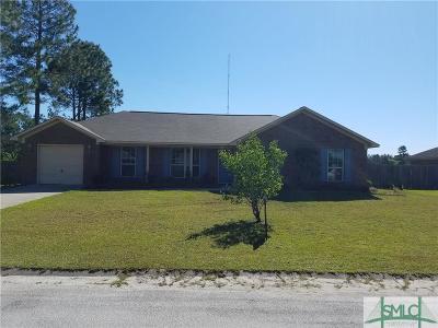 Ludowici Single Family Home For Sale: 82 NE Burnt Pines Road
