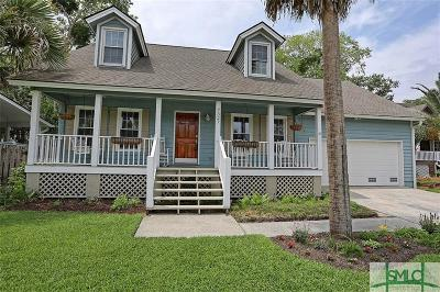 Savannah Single Family Home For Sale: 7327 Laroche Avenue