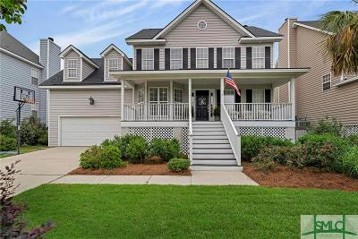 Wilmington Island Single Family Home For Sale: 117 Sweet Bailey Cove
