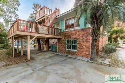 Tybee Island Single Family Home For Sale: 7 6th Terrace