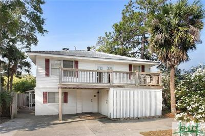 Tybee Island Single Family Home For Sale: 11 9th Street