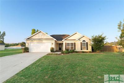 Guyton Single Family Home For Sale: 106 Kingsley Drive S