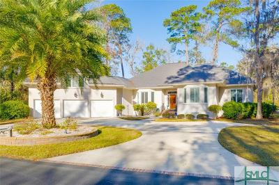 Savannah Single Family Home For Sale: 3 Curlew Lane
