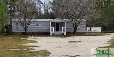 Ellabell Single Family Home For Sale: 3836 Eldora Road
