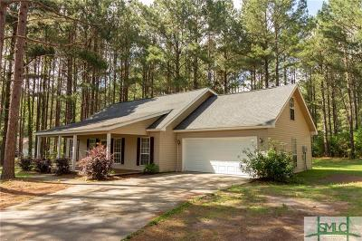 Brooklet Single Family Home For Sale: 1412 Lilac Lane