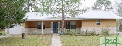 Single Family Home For Sale: 3843 Lewis Frasier Road