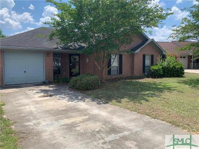 Hinesville Single Family Home For Sale: 869 Birchwood Lane