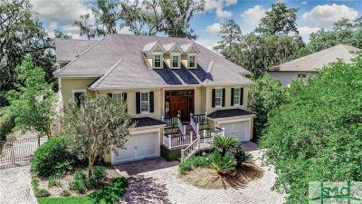 Wilmington Island Single Family Home For Sale: 1416 Walthour Road