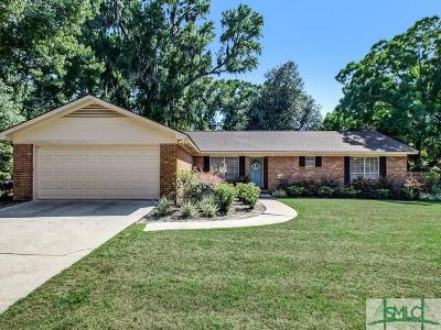 Savannah GA Single Family Home For Sale: $323,500
