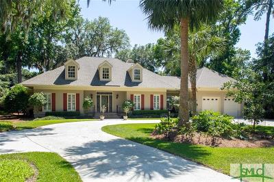 Savannah Single Family Home For Sale: 7 River Otter Lane