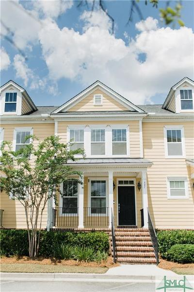 Pooler Condo/Townhouse For Sale: 327 Lake View Drive