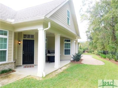Pooler Condo/Townhouse For Sale: 192 Kingfisher Circle
