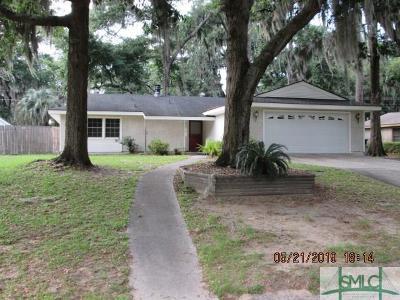 Savannah GA Single Family Home For Sale: $249,900