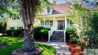 Savannah Single Family Home For Sale: 110 N Sheftall Circle