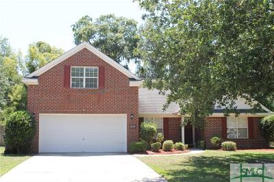 Savannah GA Single Family Home For Sale: $354,500