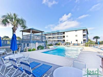 Tybee Island Condo/Townhouse For Sale: 1217 Bay Street #126A