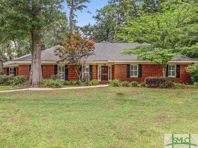Savannah Single Family Home For Sale: 107 Terrapin Trail