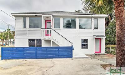 Tybee Island Single Family Home For Sale: 16 13th Street