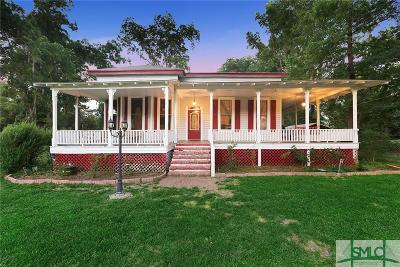 Guyton Single Family Home Active Contingent: 471 Central Avenue