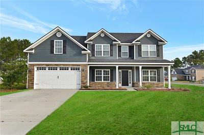 Single Family Home Active Contingent: 105 Roundstone Way