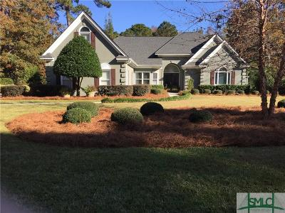 Savannah Single Family Home For Sale: 24 Myrtlewood Drive