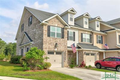 Pooler Condo/Townhouse For Sale: 134 Ventura Place