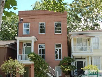 Savannah Single Family Home For Sale: 205 W Huntingdon Street