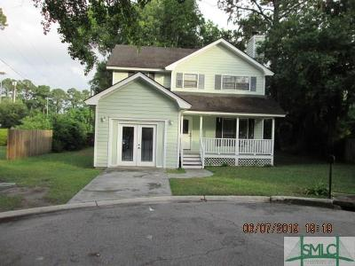 Wilmington Island Single Family Home For Sale: 25 Walthour Cove