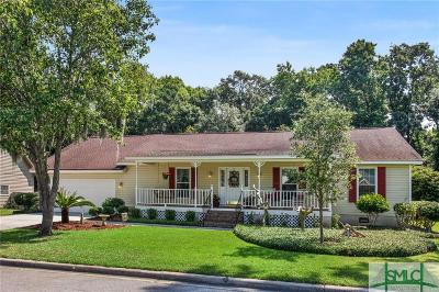 Wilmington Island Single Family Home For Sale: 113 Copperfield Drive N