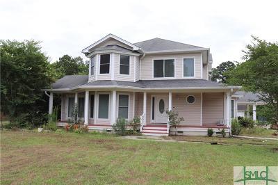 Savannah Single Family Home For Sale: 308 Lakeshore Drive